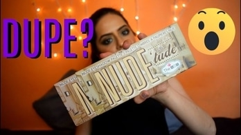 Dupe Alert: The Balm Nude Tude Eyeshadow Palette Review, tutorial & #giveaway  Folow @bbbeauty26 and win  https://youtu.be/O9pAJRBRbi8 https://youtu.be/O9pAJRBRbi8