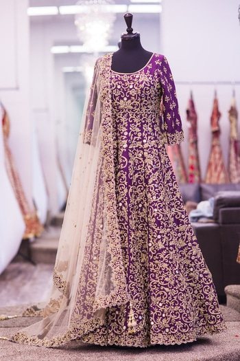 Designer purple  color silk crafted dori and embroidery work Salwarsuit and dupatta from anjani creation _  Code - 003-purple febric - bangalori silk  work - Embroidery  size - free upto 42 flair - 2.8 mtr dupatta - net  work on dupatta - embroidery lace border  sleeve - as require lahenga  height - max - 42 shipping - 150/in India international shipping - 1400INR    Rate - 1999/- ( shipping extra )* * = reseller whatsapp on +919099336755 (Direct from wholesaler+Manufacturer ) PAYTM Accepted , No COD . NO price negotiation .  Office Address - C-438 ,New Bomaby Market,Kadodara Road ,Surat - 395010  Factory Address - 3021/22/23/24/25 - New GIDC ,Katargam ,Surat - 395004  #womenapparel #fashion #salwarkameez #trendy #adorablelook #bride #bridesmaids #bridalwear #bridals #bridaldress #wedding #ethnicwear #dresses #peach #netherlands #monaco #clothes #womenclothing #girlish #lahengabazaar #print #shopping #paris #germany #srilanka #colombo #kuwait #uae #arab #london #usafashion #dhaka #abudhabi #designer #outfitoftheday
