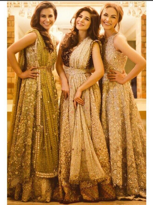 Gorgeous ladies Ayesha Omar And Maira khamisani In A Beautiful Outfits