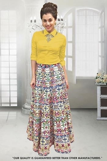 Casual Wear Multi-Colour Crop Top Lehenga - 60557H @ Rs . 1350 /- Only  Buy Now : https://goo.gl/eAhZEC  Order On Whatsapp : 09321219977  Flat 10% OFF on First Order ( Use Coupon - IAMNEW10 ) Get Free Home Delivery + COD + Easy EMI + Easy Refund / Replacement Policy.!!  *100 % Customer Satisfaction * Stitching Service Available * Hurry Up To Grab Exciting Offer On storeadda !!!! * World Wide Shipping   #anarkalisuit #embroidered #anarkalidress #salwarsuit #longanarkali #storeadda #sale #salealert #womensonlineshopping #onlineshopping #georgette #ethnic-wear #anarkalisonline #fashionblogger #blogstyle #blogging #fashionblog #fashionbloggerindia #indianstyle #salwarsuit #dressmaterial #salwarkameez #ethnicwear   #anarkalidress #palazzostyle #palazzo #palazopants #capedress #capestyle #multi-colour #banglori #lehengasuit #lehengaskirt #printed  #ethnicwearonline   #roposo #youtuber #woman-fashion #womansequality #partywearlehengas #partywearshopping #wedding-suits-designer #croptoplehenga #croptopskirt #traditionalwear #traditionallook
