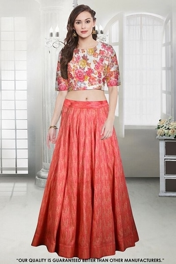 Party Wear Peach Crop Top Lehenga - 60560 @ Rs . 1650 /- Only  Buy Now : https://goo.gl/Zea43G  Order On Whatsapp : 09321219977  Flat 10% OFF on First Order ( Use Coupon - IAMNEW10 ) Get Free Home Delivery + COD + Easy EMI + Easy Refund / Replacement Policy.!!  *100 % Customer Satisfaction * Stitching Service Available * Hurry Up To Grab Exciting Offer On storeadda !!!! * World Wide Shipping   #anarkalisuit #embroidered #anarkalidress #salwarsuit #longanarkali #storeadda #sale #salealert #womensonlineshopping #onlineshopping #georgette #ethnic-wear #anarkalisonline #fashionblogger #blogstyle #blogging #fashionblog #fashionbloggerindia #indianstyle #salwarsuit #dressmaterial #salwarkameez #ethnicwear   #anarkalidress #palazzostyle #palazzo #palazopants #capedress #capestyle #peach #taffetasilk #lehengasuit #lehengaskirt #digitalprinted  #ethnicwearonline   #roposo #youtuber #woman-fashion #womansequality #partywearlehengas #partywearshopping #wedding-suits-designer #croptoplehenga #croptopskirt #traditionalwear #traditionallook