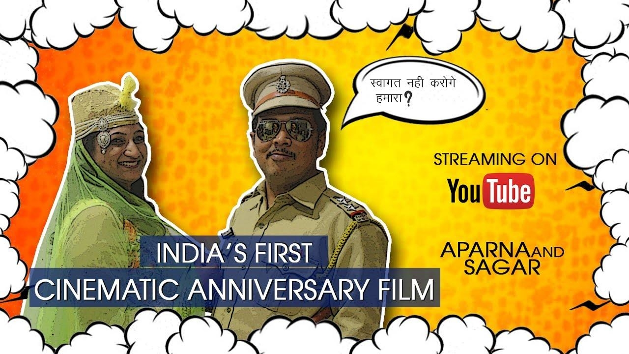 India's First cinematic anniversary film I Aparna and Sagar I Hindi subtitles  Do subscribe our channel😘😘