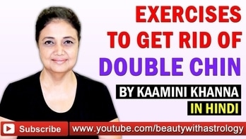 Exercises that will help you to get rid of Double Chin practically done by Kaamini Khanna herself. Please share :) https://youtu.be/DUAICZiSbrs #double #chin #exercise #fitness #health #lifestyle #meditation #wellness