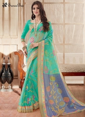Orphic Silk Sea Green Printed Saree 3616     For More informaion WhatsApp 7202080091 Or Visit www.SareeBee.com   #lehengas #summer-fashion #summerfashion #bollywood #fun #dress #streetstyle #ethnic #designer #styles #travel #indianblogger #roposo #selfie #trendy #lookoftheday #summer #ropo-love #styling #fashionista #cannesfilmfestival #roposogal #shopping #blogger #cool #Womenonroposo  #summer-fashion #summerfashion #raabtathemovie #rocknshop #food #bollywood #fun #dress #ootd #streetstyle #ethnic #designer #styles #travel #indianblogger #roposo #selfie #trendy #lookoftheday #summer #ropo-love #casualvibes #styling #fashionista #cannesfilmfestival #roposogal #shopping #blogger #cool #menonroposo #ethnicwear  #eid2017 #eidmubarakh #Happynewyear