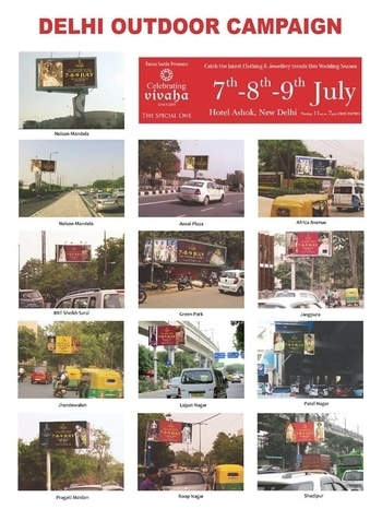 Celebrating Vivaha Delhi Outdoor Campaign  Catch the Latest trends in #CLOTHING and #JEWELLERY from the finest designers of #FASHION industry at The Ashok , New Delhi, India on 7th, 8th & 9th July 2017.  For Queries Visit at : http://www.vivahaexb.com/ or Contact: 09811923456  #Clothes #Jewelry #DiamondJewellery #GoldJewellery #Bridal #Exhibition #BridalDresses #WeddingExpo #DesignerJewellery #DesingerDresses #WeddingDresses