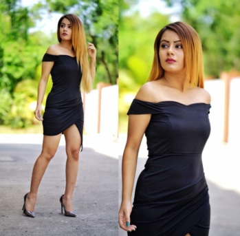 Black Off Shoulder Wrap Dress BUY FOR 1,750 SIZES AVAILABLE: XS, S, M, L. Follow us on Instagram@madrushfashion https://www.instagram.com/madrushfashion/ #madrushfashion#womenonroposo#fashiononroposo#roposo#fashion#roposolove#roposogal#fun#love#ropolove#blue#black#white#strips#ropo-styles#styles#trendy#look#lookoftheday#tees#shopping#onlineshopping#soropso#roposogal#cool#summer#summer-styles#blogger#fashionblogger#mumbai#delhi#india
