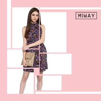 If there's one wardrobe staple to transport you into the season's playful mood, it is this: a perfectly printed dress! Grab yours at miwayfashion.com #miwaystyle #miwayfashion #ootd #lunchlook #summerstyle #summerready #summerprints