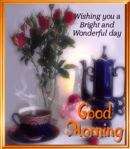 HI dear friends good morning to you and thanks to everyone have a nice day