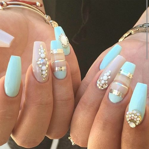 #nailswithrhinestones #nail-designs #nail colour and art #doublecoloured