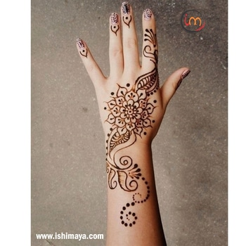 #Wedding seasons special | Decorate your #hands with this #mehendi #henna design and look more attractive at festive gatherings. www.ishimaya.com #mehendi #mehendilove #mehendidesign #mehendigiveaway #mehendiphotography #mehendiartist #mehendi design #mehenditime #mehendifunction #mehendioutfit #mehendi_tattoo #mehendiceremony #mehendigift #mehendinight #mehendionlegs