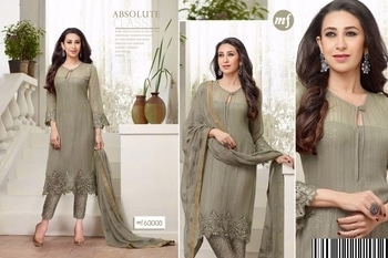 Mf Embroid Georgette Suit Exclusive Women's collection  only on Wholesale Yug  Buy Now:https://goo.gl/mCBZnF Link :- http://wholesaleyug.com  For more info feel free to call or whats app :-  +91-973 776 5500  International Shipping Also Available   Thanks #pakistanisuits #straightsuits #georgettesuits #churidarsalwar #salwarkameez #salwarsuits #pakistanisalwar #womenfashion #traditionalwear #traditionalfashion #glamorous #lookbook #womenfashionweek #fashionista #IndianClothStore