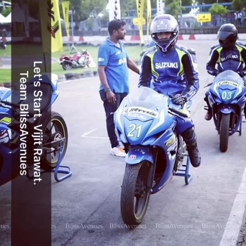 We are back again! with the third year of the Gixxer Cup, Suzuki, Noida-2017. With their new formed partnership with JK Tyre Motorsport.  Team BlissAvenues was fabulous on that track. JK Tyre Motorsport #events