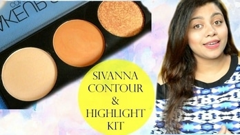 Sivanna Contour and Highlighter Kit Review + Swatches || Nailzfashionista