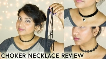 Choker Necklace Set Review & Try On || DenDiva #choker #chokernecklace #chokerfever #choker alert! #necklace #necklacedesigns #necklaceset #jewellery #jewelleryaddict #fashion #be-fashionable #women-fashion #summer-fashion #fashionista #streetstyle #styling #summer-style #ropo-style #soroposo #trend-alert #trendy #video #videooftheday #videolover #youtuber #youtubeindia #girls #girl with a necklace !