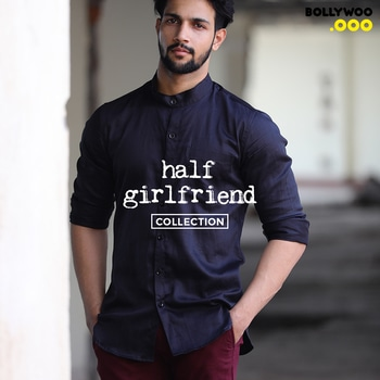 Stratum Shirt and a lot more from the movie Half-Girlfriend now live on BollyWoo!  Collection now live! Visit - https://goo.gl/Tuq8Z9 #BollyWoo #BollywoodDecoded #BollyOverMolly #StopTheScreen #ShopTheScreen #trendy #cool #shirts #fashionforver #HalfGirlfriend #ArjunKapoor