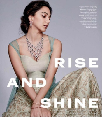 #kiaraadvani looks ethereal in this July issue #elle editorial in a #ridhimehraofficial ensemble   #ellemagazine #fashion #editorialshoot #fashionpr #webuildyourstory #dipublicrelations #diprloves