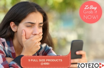 5 FULL SIZE PRODUCTS @ 499/- #grabitsoon #beautybag #beautybox #makeupaddict  #skincare #sunscreen #beyourownqueen  #goodies #theprincess #ropo-style #zobag #zotezo #madeinindia  #ropo-beauty #ropo-love #july-beauty-bag #julybox #subscriptionbox #monthlybag #beauty #blogger #review #keepyourheadup