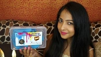 CUTENAILS NAILART BOX July 2017 + GIVEAWAY | Unboxing & Review | Stacey Castanha #giveaway #giveawayindia #nailart #nailartblogger #nailartaddicts #nailpolish #videoreview #cutenails