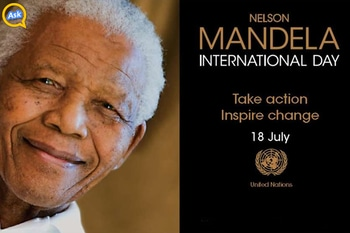 Nelson Mandela's life has been an inspiration for all of us. Let's celebrate International Nelson Mandela together! https://goo.gl/Mbih6T #InternationalNelsonMandelaDay #nelsonmandela #motivationindia  #change #inspiring #askopinion