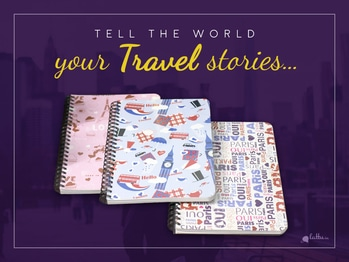 Be it Passionate Paris Romance or Sensational London Adventure - the World is listening... Pen your travel tales in these nifty notepads! Shop Now: http://bit.ly/2tY5WOR