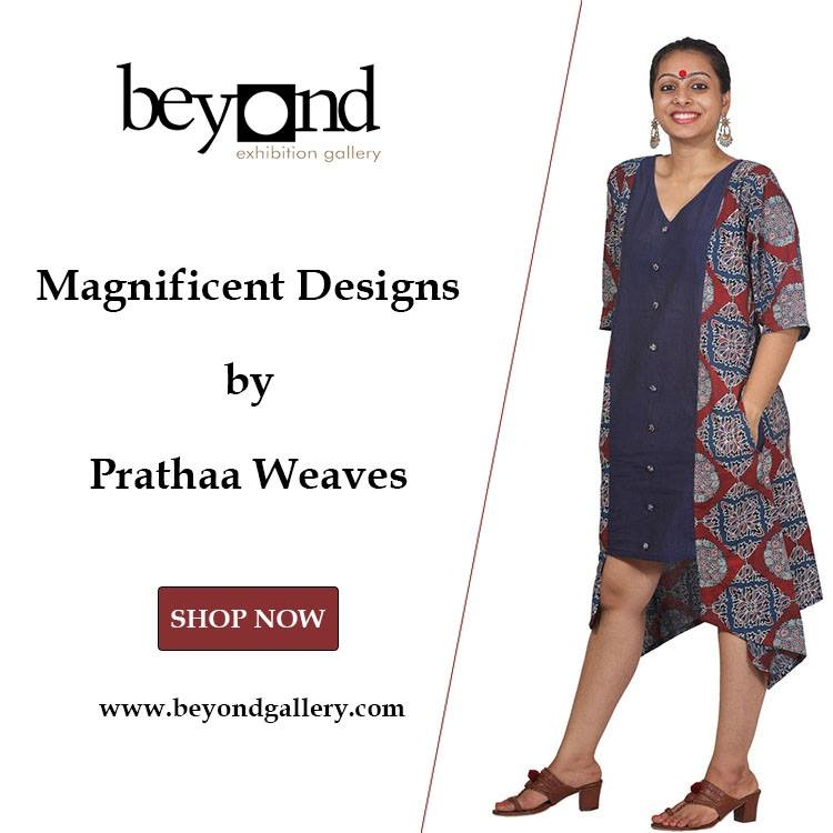 Designs speaks more than designer...  SHOP NOW @ https://beyondgallery.com/prathaa/  #contemporarydresses #dresses #mididress #maxidress #skirts #tops #jackets #cotton #blockprint #kalamkari #smart #uniquedesignes #ootd #fashionupdate #fashion #chiclook #summer #newarrivals #summerdresses #purecotton  #tiedye #elegant #uniquedesigns #musthave #fashionupdate #fashionista #womenwear #onlineshopping #style #meridukaan #new #cool #styles #model #aselfieday #instagram #makeup #shopping #fashion #madeinindia #happy #beauty #ootd #theprincess #theprincesslook