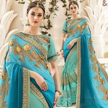 Elegant Sea Green N Sky Blue Half Sari Design Having Jewel Neckline  Order Here:- http://www.designersandyou.com/saree-blouse/half-saree-blouse/elegant-sea-green-n-sky-blue-half-sari-design-having-jewel-neckline-6648  To View More Saree Blouses Collection: http://www.designersandyou.com/saree-blouse  To View More Half Saree Blouses Collections:- http://www.designersandyou.com/saree-blouse/half-saree-blouse  To VIew Sea Green Half Sarees:- http://www.designersandyou.com/saree-blouse/half-saree-blouse/sea-green  To View Reception Half Sarees:- http://www.designersandyou.com/saree-blouse/half-saree-blouse/reception  #HalfSareeModels #Designersandyou #HalfSareeBlouseDesign #FancySareesWithPrice #HalfSareeCollection #HalfSareesDesign #HalfSareesModels #HalfSareeDesigns #LatestSareesFashions #FancySareesOnlineShopping #SareeDesignPatterns #HalfSareesCollection #HalfSareesCollections #DesignerHalfSarees #DesignerHalfSaree #HalfNHlafSarees #HalfSarees #HalfSarees #HalfSareesBlouseDesigns #HalfSareesOnline #EmbroideredHalfSarees