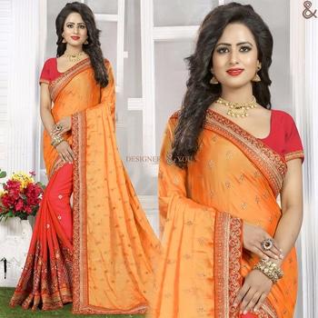 Chic Orange And Red Raw Silk Indian Half Saree With Scoop Neckline  Order Here:- http://www.designersandyou.com/saree-blouse/half-saree-blouse/chic-orange-and-red-raw-silk-indian-half-saree-with-scoop-neckline-6624  To View More Saree Blouses Collection: http://www.designersandyou.com/saree-blouse  To View More Half Saree Blouses Collections:- http://www.designersandyou.com/saree-blouse/half-saree-blouse  To View Art Silk Half Sarees:- http://www.designersandyou.com/saree-blouse/half-saree-blouse/art-silk  To VIew Designer Half Sarees:- http://www.designersandyou.com/saree-blouse/half-saree-blouse/designer  #HalfSareeModels #Designersandyou #HalfSareeBlouseDesign #FancySareesWithPrice #HalfSareeCollection #HalfSareesDesign #HalfSareesModels #HalfSareeDesigns #LatestSareesFashions #FancySareesOnlineShopping #SareeDesignPatterns #HalfSareesCollection #HalfSareesCollections #DesignerHalfSarees #DesignerHalfSaree #HalfNHlafSarees #HalfSarees #HalfSarees #HalfSareesBlouseDesigns #HalfSareesOnline #EmbroideredHalfSarees