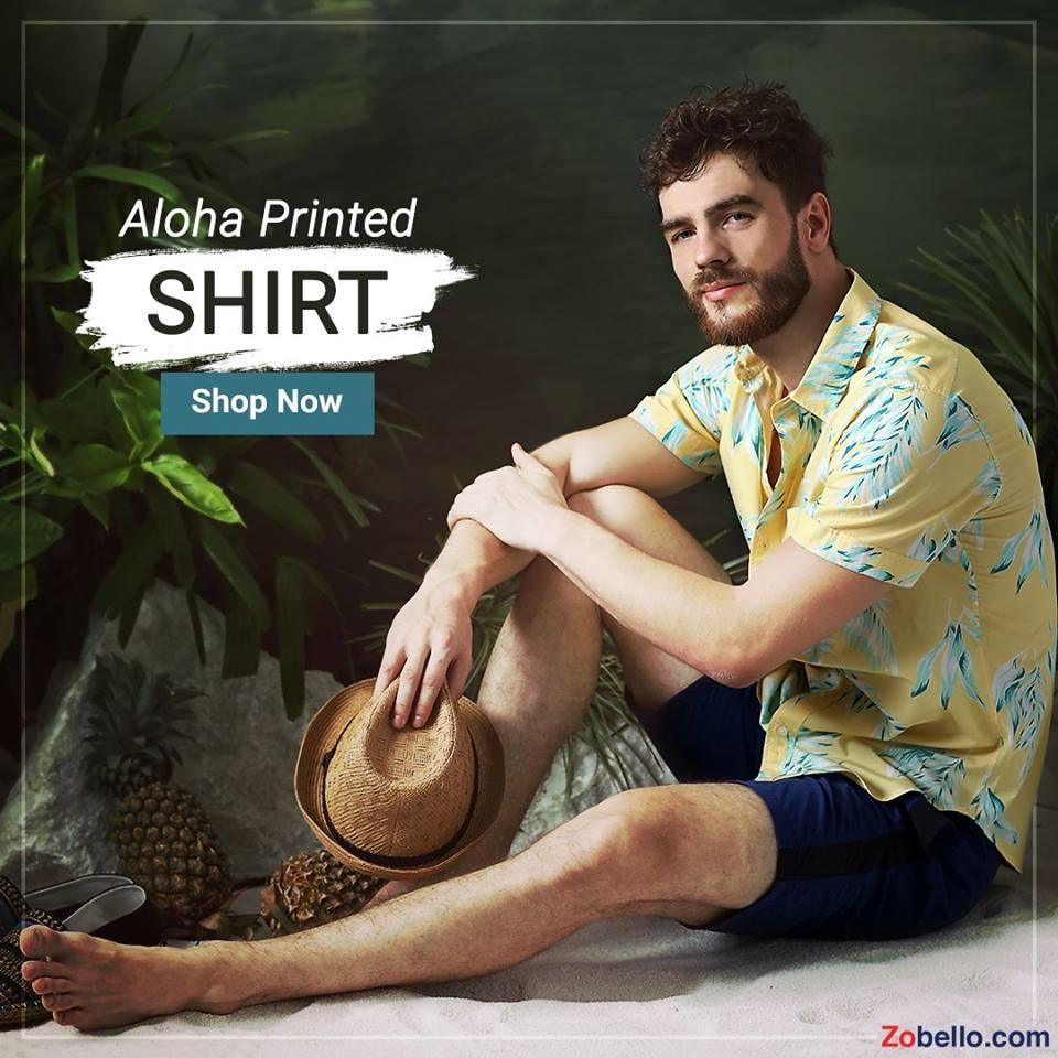 Say mahalo like the locals in Hawaii as you enjoy your vacation in this tropical shirt. Shop island wear @ https://goo.gl/tLLeuz #zobello #fashion #beachwear #islandwear #shopping