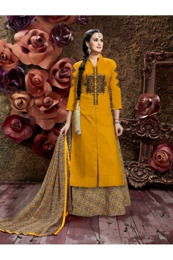Glace Cotton Mustard Colour Lehenga Suit - 16595 @ Rs.1760/- Only   Buy Now : https://goo.gl/4jQ1Qs   Order On Whatsapp : 09321219977  Flat 10% OFF on First Order ( Use Coupon - IAMNEW10 ) Get Free Home Delivery + COD + Easy EMI + Easy Refund / Replacement Policy.!!  *100 % Customer Satisfaction * Stitching Service Available * Hurry Up To Grab Exciting Offer On storeadda !!!! * WorldWide Shipping   #anarkalisuit #embroidered #anarkalidress #salwarsuit #longanarkali #storeadda #sale #salealert #ethnic #picoftheday #styles #shopping #beauty #fashion #outitoftheday ##fashionblogger #blogstyle #blogging #fashionblog #fashionbloggerindia #indianstyle #salwarsuit #dressmaterial #salwarkameez #ethnicwear   #anarkalidress #palazzostyle #palazzostyle #palazopants #capedress #dupionsilk #capestyle  #banglori  #semi-stitched #kurti #patiyala-suit #georgette #salwarsuit #lehenga #lehengacholi #lehengasuit #lehengaskirt #embroidery  #ethnicwearonline   #roposo #youtuber #woman-fashion #womansequality #partywearlehengas #partywearshopping #wedding-suits-designer #traditionalwear #chaniyacholi