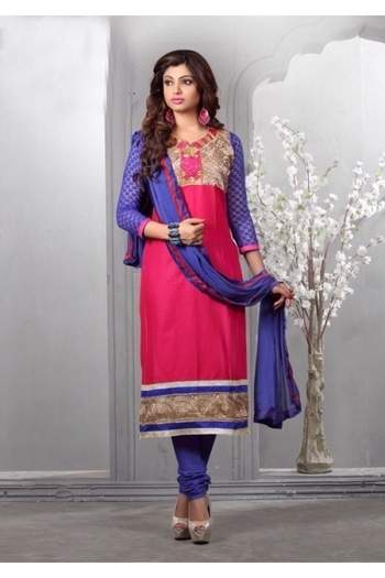 Glaze Cotton Pink Embroidery Salwar Suit - 16542 @ Rs.1625/- Only   Buy Now : https://goo.gl/mfnwQn   Order On Whatsapp : 09321219977  Flat 10% OFF on First Order ( Use Coupon - IAMNEW10 ) Get Free Home Delivery + COD + Easy EMI + Easy Refund / Replacement Policy.!!  *100 % Customer Satisfaction * Stitching Service Available * Hurry Up To Grab Exciting Offer On storeadda !!!! * WorldWide Shipping   #anarkalisuit #embroidered #anarkalidress #salwarsuit #longanarkali #storeadda #sale #salealert #ethnic #picoftheday #styles #shopping #beauty #fashion #outitoftheday ##fashionblogger #blogstyle #blogging #fashionblog #fashionbloggerindia #indianstyle #salwarsuit #dressmaterial #salwarkameez #ethnicwear   #anarkalidress #palazzostyle #palazzostyle #palazopants #capedress #dupionsilk #capestyle  #banglori  #semi-stitched #kurti #patiyala-suit #georgette #salwarsuit #lehenga #lehengacholi #lehengasuit #lehengaskirt #embroidery  #ethnicwearonline   #roposo #youtuber #woman-fashion #womansequality #partywearlehengas #partywearshopping #wedding-suits-designer #traditionalwear #chaniyacholi