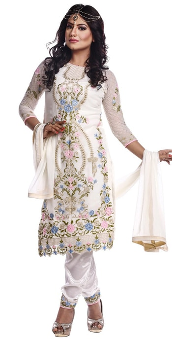 Admire White #Georgette Designer #SalwarSuit.  Price : 1550/- only  Whats app 8097 909 000  Hurry up! #Nallucollection #Fashion #Shopping  Click here to buy https://www.nallucollection.com/sa…/cotton-salwar-suits.html  💯% Best Quality  This Salwar Suit has stunning look with embroidery work,lace border work.   #meridukaan #saree #new #aselfieaday #cool #earrings #styles #bollywood #model #summeroutfit #instagram #therebel #traveldiaries #indianblogger #makeup #shopping #hellomonsoon #followme #selfie #fashion #myfirststory #jewellery #madeinindia #roposogal #blogger #ootd #ropo-style #theprincess #beauty #happy  #ootd #outfitoftheday #lookoftheday #fashion #fashiongram #style #love #beautiful #currentlywearing #lookbook #wiwt #whatiwore #whatiworetoday #ootdshare #outfit #clothes #wiw #mylook #fashionista #todayimwearing #instastyle #socialenvy #PleaseForgiveMe #instafashion #outfitpost #fashionpost #todaysoutfit #fashiondiaries