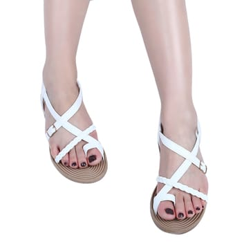 white flat sandals-unique from others... #closet37 #closet37zion #white #whitestrap #shoes  #shoeswithe #sandles #whitesandals #delhi #delhiblogger #delhibeautyblogger #delhincr #delhibloggergirl #photo #photoshoot #niceshot #shoeso #roposo #roposogal #insta #instapic #instapic #fashionables #fashion #fancyshoes #ropo-foodie #trendycollection #trendy #trendylook
