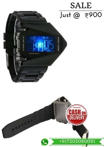 DigitalBlackGP Analog-Digital Watch - For Men 7029    For More Detail WhatsApp 7202080091 Or Visit www.SareeBee.com   #lehengas #summer-fashion #summerfashion #bollywood #fun #dress #streetstyle #ethnic #designer #styles #travel #indianblogger #roposo #selfie #trendy #lookoftheday #summer #ropo-love #styling #fashionista #cannesfilmfestival #roposogal #shopping #blogger #cool #Womenonroposo  #summer-fashion #summerfashion #raabtathemovie #rocknshop #food #bollywood #fun #dress #ootd #streetstyle #ethnic #designer #styles #travel #indianblogger #roposo #selfie #trendy #lookoftheday #summer #ropo-love #casualvibes #styling #fashionista #cannesfilmfestival #roposogal #shopping #blogger #cool #menonroposo #ethnicwear  #rakshabandhan2017 #rakshabandhangift #watchformen #watchforwomen #coupleWatch #ComboofWatch