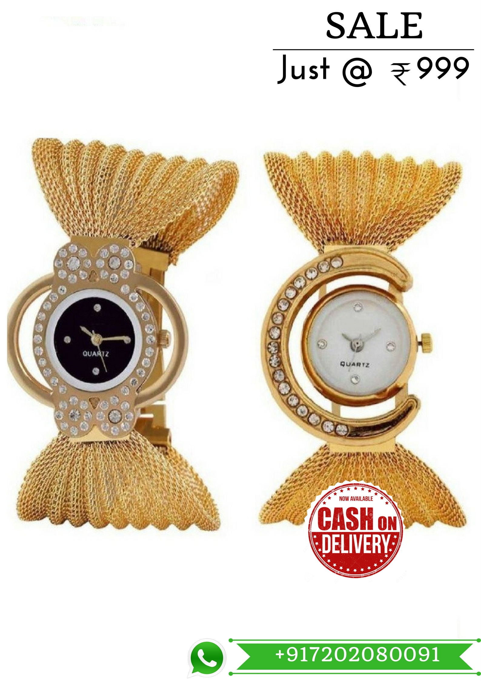 Latest Exclusive Latest Golden Color Designer Watch For Women 7030   For More Detail WhatsApp 7202080091 Or Visit www.SareeBee.com   #lehengas #summer-fashion #summerfashion #bollywood #fun #dress #streetstyle #ethnic #designer #styles #travel #indianblogger #roposo #selfie #trendy #lookoftheday #summer #ropo-love #styling #fashionista #cannesfilmfestival #roposogal #shopping #blogger #cool #Womenonroposo  #summer-fashion #summerfashion #raabtathemovie #rocknshop #food #bollywood #fun #dress #ootd #streetstyle #ethnic #designer #styles #travel #indianblogger #roposo #selfie #trendy #lookoftheday #summer #ropo-love #casualvibes #styling #fashionista #cannesfilmfestival #roposogal #shopping #blogger #cool #menonroposo #ethnicwear  #rakshabandhan2017 #rakshabandhangift #watchformen #watchforwomen #coupleWatch #ComboofWatch