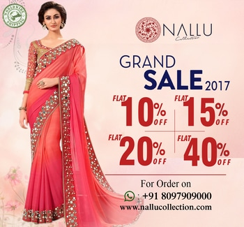 Hurry up folks! Everywhere is Sale!!!!!   Whats app on  8097 909 000  Click here to buy https://www.nallucollection.com/    #meridukaan #saree #new #aselfieaday #cool #earrings #styles #bollywood #model #summeroutfit #instagram #therebel #traveldiaries #indianblogger #makeup #shopping #hellomonsoon #followme #selfie #fashion #myfirststory #jewellery #madeinindia #roposogal #blogger #ootd #ropo-style #theprincess #beauty #happy  #ootd #outfitoftheday #lookoftheday #fashion #fashiongram #style #love #beautiful #currentlywearing #lookbook #wiwt #whatiwore #whatiworetoday #ootdshare #outfit #clothes #wiw #mylook #fashionista #todayimwearing #instastyle #socialenvy #PleaseForgiveMe #instafashion #outfitpost #fashionpost #todaysoutfit #fashiondiaries