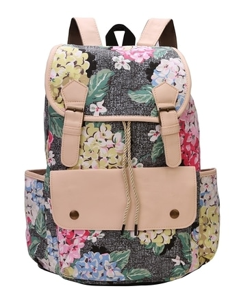 *Bee Fashionable Stylish Canvas Black-Tan Back pack for Women   *Selling price  799  *http://www.amazon.in/dp/B073CY8NDS
