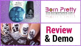 |Born Pretty Store|  Review for Stamping Plate and Stamping Polish | Designyournailsbyisha  http://www.bornprettystore.com/ 🔸Use BHTX31 for 10% off  Direct Link for Stamping Plate :  http://www.bornprettystore.com/cute-owls-nail-stamping-template-image-plate-born-pretty-bp54-p-18797.html   🔸It has total 8 pattern, 4 cute OWL designs. 🔸High quality plate and etched very well. 🔸I highly recommended this plate & its affordable too.  Direct Link for Stamping Polish : http://www.bornprettystore.com/bottle-born-pretty-stamping-polish-nail-varnish-nail-plate-printing-polish-p-27268.html   🔸It stamps perfectly. 🔸Formula is awesome, it didn't stained my stamper. 🔸If you do get some polish on your skin, you can easily remove with nail polish remover. 🔸It has glossy finish.  #designyournailsbyisha #ishanailart #bornpretty #nails #nail #nailart #notd #art #design #soroposo #roposonails #roposonailart #nailfashion #photography #manicure #nailblogger #bblogger #youtuber #stampingpolishreview #stampingplate #review #owlnails #owlnaildesign #glitternails #blackandwhitenails
