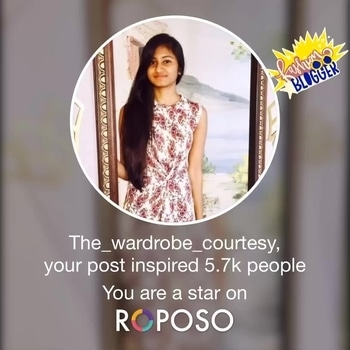 This made my day. Thank you everyone for your support and love. #roposo #fashionblogger #indianfashionblogger #popxoblognetwork #bloggerlife #fashionblogger
