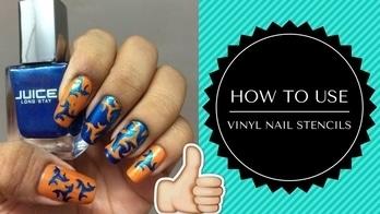 HOW TO USE VINYL NAIL STENCILS   Hey guys check out my new video 🔜  hope u like it 😊  Don't forget to subscribe to my youtube channel ENAILDIARIES😘 #nailswag #nailart #indianyoutuber #nail-addict #nailartvideo #nailartblogger #nails2inspire #subscribe #follow #like #comment #share #love #trends #forever