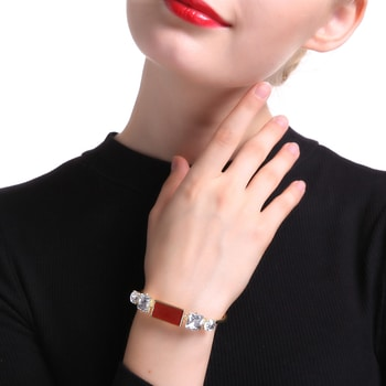 Stunning Red Bracelet. New Arrival.....visit www.shforn.com #jewellerydesign #jewellery #bracelet #trendy #trendyfashion #shopping #designer #fashion #women-fashion #styles #womenf #onlineshopping #fashionjwelery #ropo-style #newarrivals
