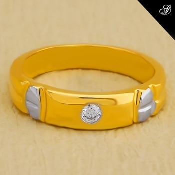 """Pato Ring"" 18K Yellow Gold [5.864 gm] with IF Diamond [0.08 ct] https://goo.gl/iYudLh #diamondjewellery #ring #styles"
