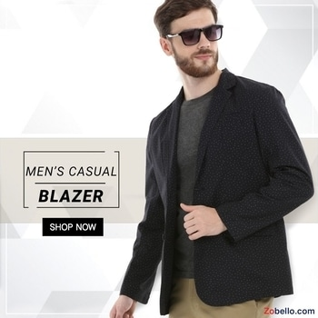 It's the Off-Beat summer blazer.  Shop casual #blazers for men @ https://goo.gl/FqPgTI  #fashion #shopping #menswear #dapperlook