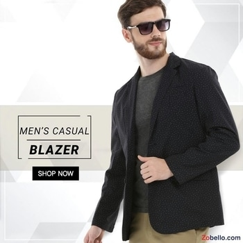 It's the Off-Beat summer blazer, casual enough to be a part of the weekend.  Shop blazers for men @ https://goo.gl/vS3yac  #zobello #fashion #shopping #blazers