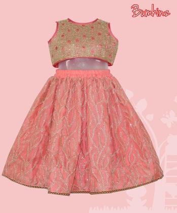 Heavy #Embroidered #Croptop and #Skirt! 👗  #Bumkinz  #MakeinIndia  www.facebook.com/Bumkinz