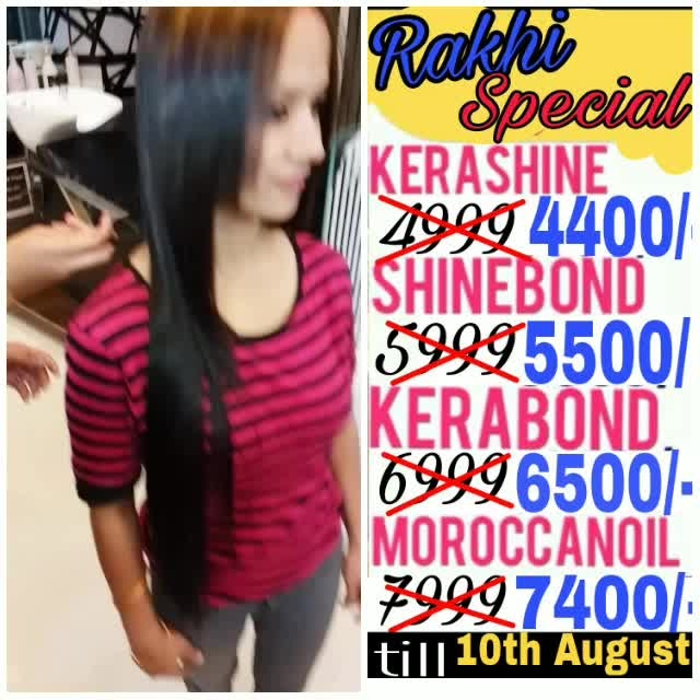 Don't Miss out .....💥 💃...#Rakshabandhan Special Offer 😍 #Call 📞9891567002/011-41881512 #Address A59 Lajpat Nagar2 near Bikanerwala and Lajpat Nagar metro station Ground Floor This #Rakhi pamper yourself 🎉  #highlights #global #ombre #keratin #globalkeratin #smoothening #moroccanoil #straighttherapy #kerashine #loreal #soft #straight #straightening #hair #smooth #straight #moroccan #loreal #hairtreatment #hair #vogue #mua #harpersbazaar #indian #makeoversbyshivalghai #indian #mua #smoothening #swag #swagfashion #creative #creativestylist #kerashine #straight #Hair   CONSULTATION required specially for colored/highlighted/henna hair before, Pls take prior appointment  Guarantee will be applicable after consultation Guarantee not applicable on regrowth *GST extra  #hairstyle #fashion #haircolour #haircare #rakhi #hairsmoothening #hairsmoothing #keratin #olaplex@1500+tax #olaplex@1500/, keratin@2800+tax #