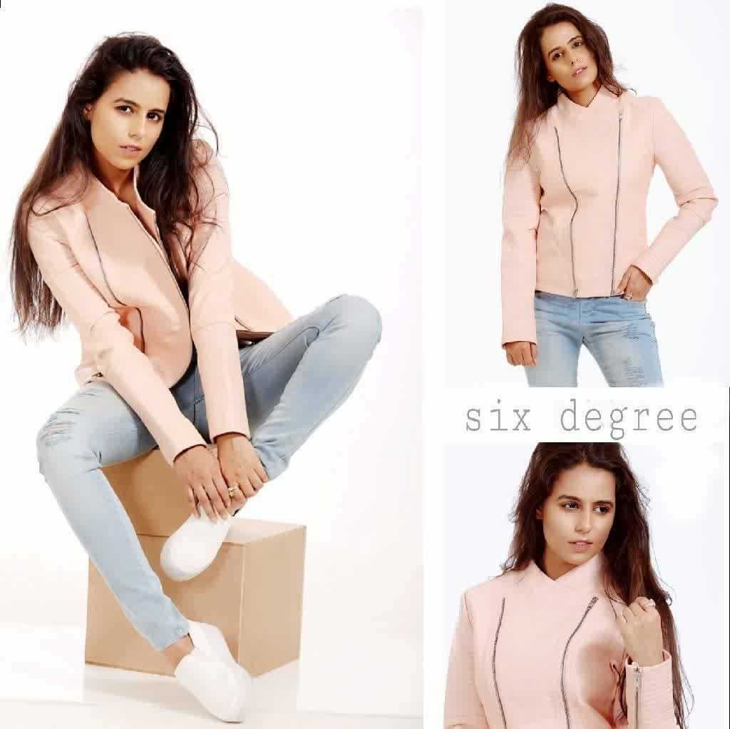 fashion work ...#work profile #photoshoot #model #fashion #glamour #styletrend  #pink  #jacket #leather #soroposolook #stylediaries #fashionista #soroposo #roposolife #roposogal #be-fashionable #editorial #editorialshoot #fashion magazines