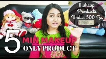 5 Min 5 Product under Rs.500 Makeup Look - Rakhi Special challenge @ritzsony  #rakhispecial #nudemakeup #naturalmakeup #makeuphaul #easymakeup #makeuptutorial #5minutemakeuplook #5minmakeupchallenge #beauty #fashion #makeup #fashion #beauty #fashionblog #fashionblogger #beautyblogger #aboutlastnight #ootd #love #self-love  #productreviews#giveaway #giveawayalert #giveawaycontest#accessory haul + huge giveaway! #hugeprizes #hugegiveaway#gift#win#giveawaywinner #giveawaysoon#amazinggiveaways#amazinggiveaway #amazingdeals#freebies#freegiveaways#freegiveaway #freegifts#contestalertindia#contestalert#wingiveaway#winfree#lakme#sheetmasks#men#mensgroomingtips #newdp #chennaiblogger #chennaiyoutuber #chennaifashion #fashionista #fashionblogger #beautyblogger #beautybloggerindia #traveldiaries #summeroutfit#white #whitedressstyles  #chennaiblogger #chennaifashion #summer #selfieoftheday #desinaturalremedies #makeup  #homeremediesforskin #homeremdies #skincare #loveskin #naturalproducts #reasonableproducts #skincaretips #skincare#indianyoutuber #indiablogger  #beautytips #beautytipsandtricks #beautybloggerindia #indianyoutubechannel  #newdp #skincare #beauty #maketutorial #skinremedies #indianyoutuber #indianyoutubechannel #indianmakeup#femaleblogger#rosposstyle #rosposoblogger#desibeautyguru#desibeauty #naturalbeautyandmakeupblog#soroposo