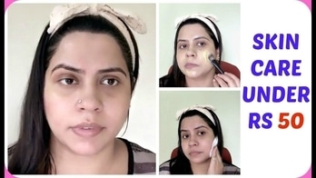 Best Skin Care Routine Under Rs 50 || Cheapest skin care at home for Oily- Acne Prone Skin
