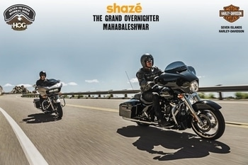 Are you ready to ride in style? Watch this space for more updates. #Riders #HOGS #HarleyRide #HarleyDavidson #ShazeIndia