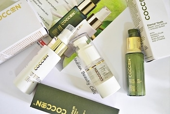 Currently testing these 3 Coccoon products :)      #coccoon #coccoonserum #indianbeautyblog #bangalorebeautyblogger #bbcream #antiwrinkle #antiageing #serum